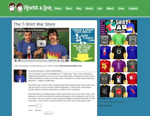 t-shirt war collection site