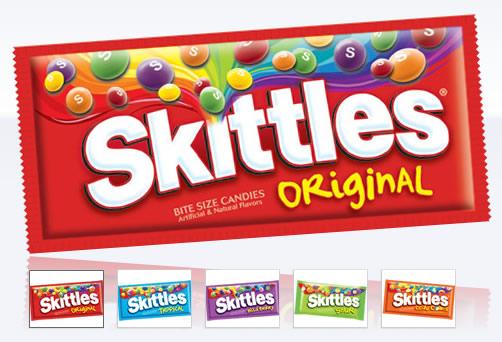 skittles products คลิกเพื่อชมภาพขนาดใหญ่