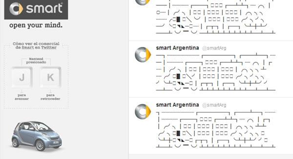 smart twitter advertising animation
